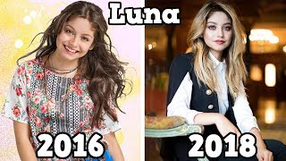 Soy Luna Before and After 2018