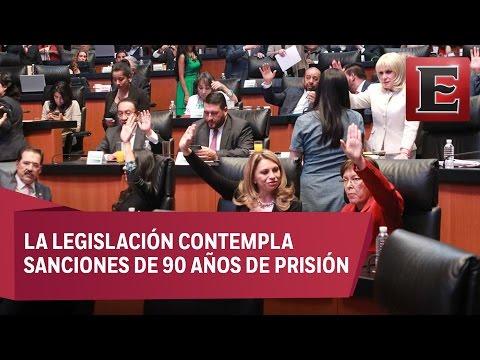 Senado avala y turna a San Lázaro Ley contra la Desaparición Forzada de Personas