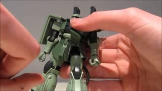 1/144 HG Zaku II + Big Gun Set (Gundam Thunderbolt ver.) Review