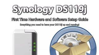 Synology DiskStation NAS DS119J 1-Bay (256MB RAM)