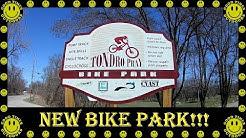 We visit a new Bike Park in Cedar Falls, Iowa