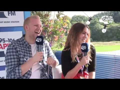 #FusionCapital 2015 - Becky Hill Interview | Tom and Claire