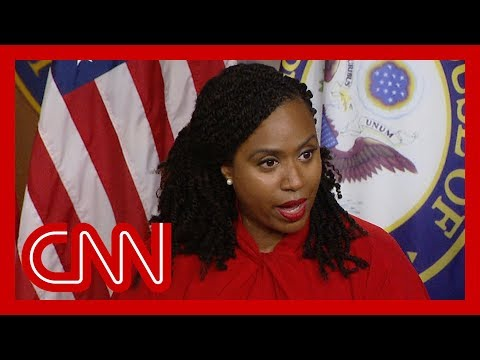 Ayanna Pressley on Trump's attacks: Don't take the bait