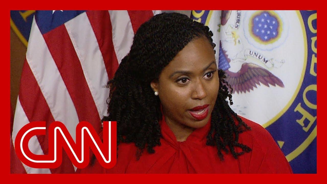 CNN:Ayanna Pressley on Trump's attacks: Don't take the bait
