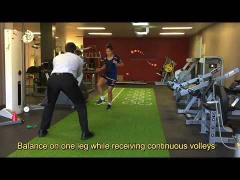 FOOTBALL PREHAB SINGLE LEG VOLLEYS