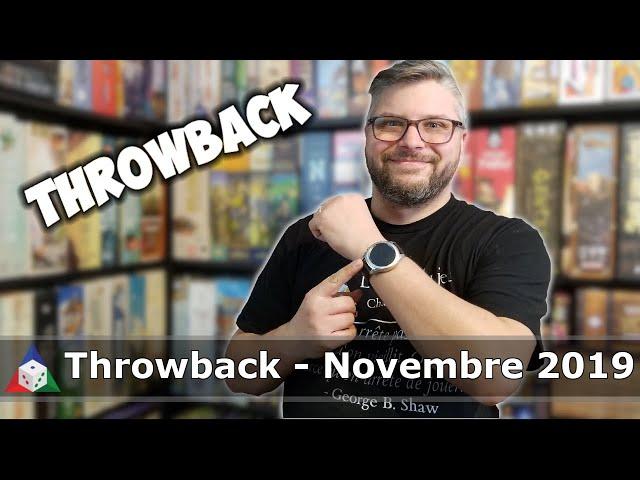 Throwback - Novembre 2019