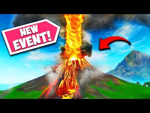 *NEW EVENT* VOLCANO FINAL EXPLOSION! - Fortnite Funny Fails and WTF Moments! #543 thumbnail