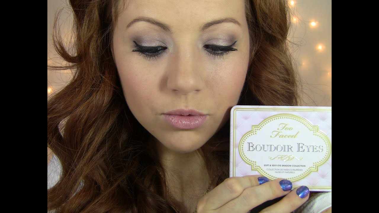 Get Ready With Me! Bedroom Eyes! Too Faced Boudoir Eyes Palette!   YouTube
