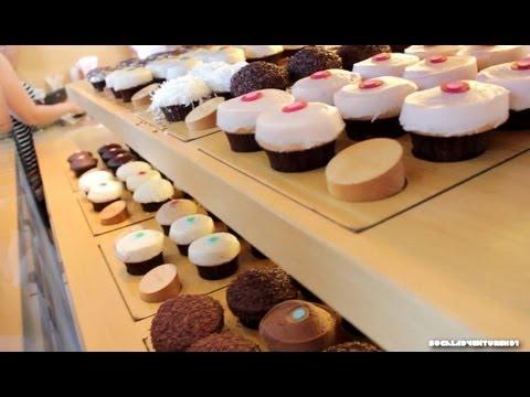 Sprinkles Cupcakes The Original Cupcake Bakery Beverly Hills 90210 Tour