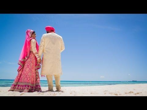 KARAMJOT & RUVINA - DESTINATION WEDDING - CANCUN MEXICO - UNIQUE SAME DAY EDIT | SDE