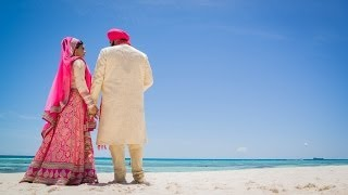 KARAMJOT & RUVINA - DESTINATION WEDDING - CANCUN MEXICO - UNIQUE SAME DAY EDIT | SDE
