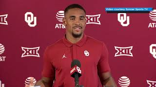 OU Football: Jalen Hurts talks Texas