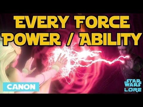 Every Force Power & Ability (Canon) - Star Wars Lore