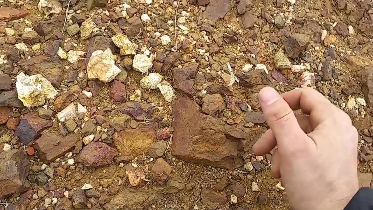 Gold And Copper : Exploring gold and copper ore zones youtube