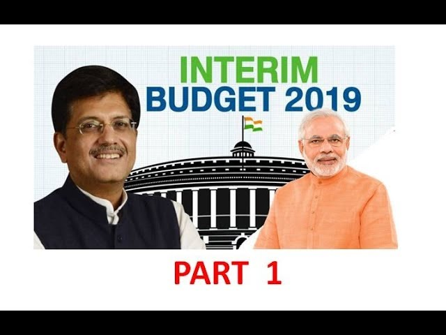 Part 1, Budget -2019-20, 2 February, 2019 The Hindu Daily Editorial Discussion