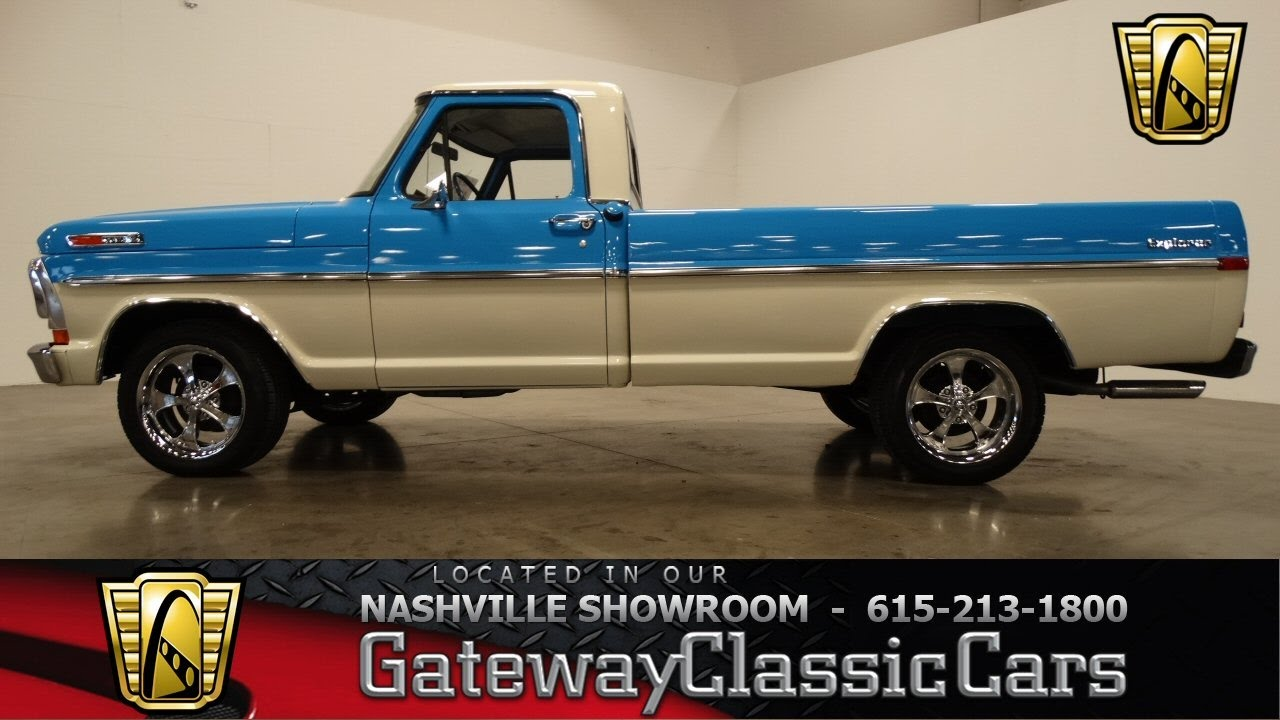 1972 Ford F100 Gateway Classic Cars Nashville 420