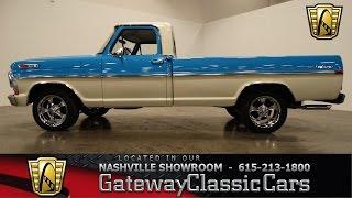 1972 Ford F100, Gateway Classic Cars-Nashville-420