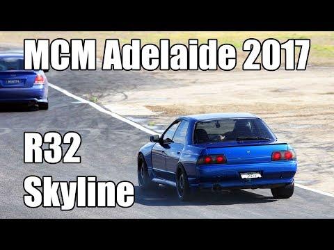 MCM 2017 Mallala  - Nissan R32 Skyline - Raw sound