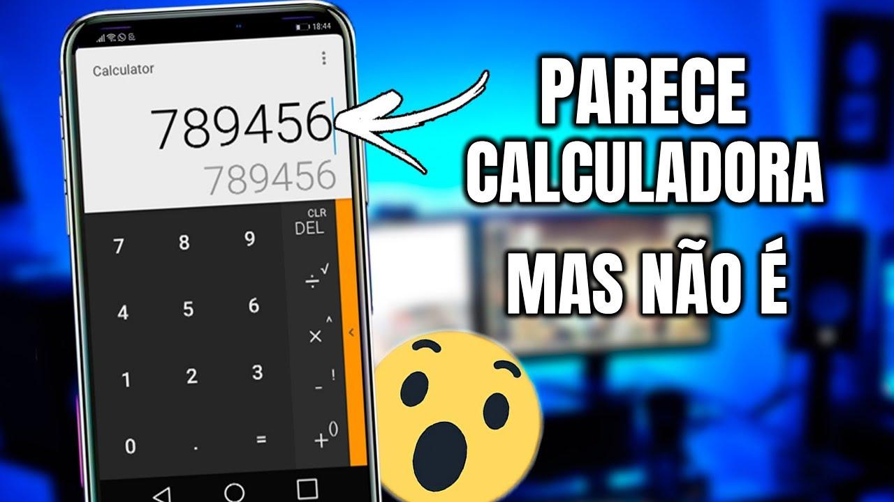 Download APP DISFARÇADO DE CALCULADORA PARA ESCONDER ARQUIVOS!