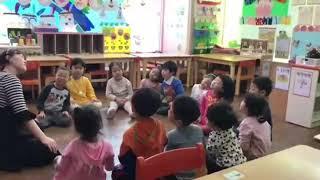 Урок музыки в садике