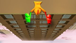 I CAN ONLY SAVE 1 OF MY FRIENDS! - Gang Beasts