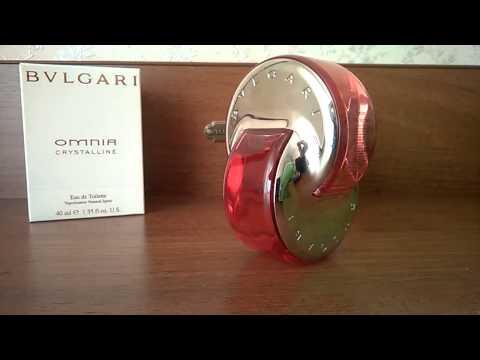 Мои парфюмы от Bvlgari  Omnia Crystalline, Omnia Coral