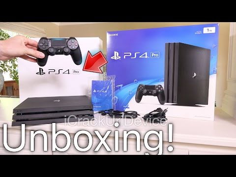 PlayStation 4 Pro: Unboxing & Review Setup! (PS4 Pro)