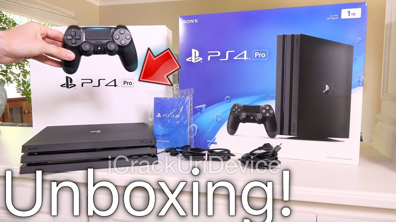 PlayStation 4 Pro: Unboxing & Review Setup! (PS4 Pro) - YouTube