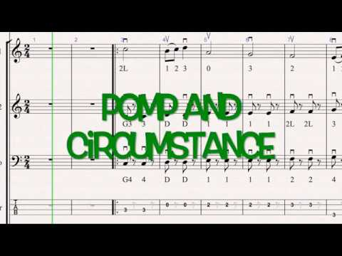 Pomp and Circumstance - String Orchestra Karaoke