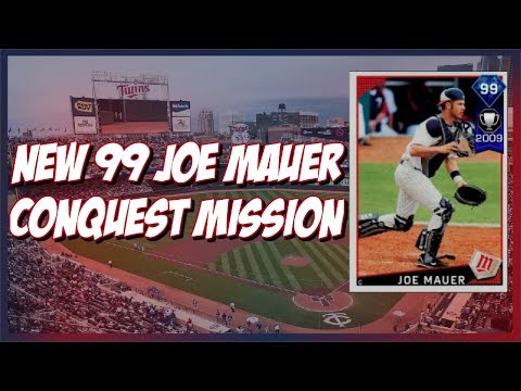NEW 99 JOE MAUER CONQUEST MISSION!! MLB The Show 17 Diamond Dynasty