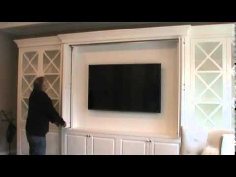 First Bead Inset Bi Fold Pocket Door Wall Unit Utilizing