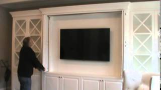 first bead inset bi fold pocket door wall unit utilizing hawa concepta 25 part 1
