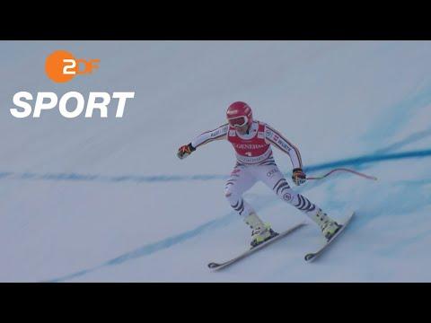 Ferstls Siegfahrt beim Super G in Kitzbühel   ZDF SPORTextra