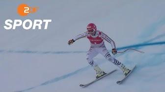 Ferstls Siegfahrt beim Super G in Kitzbühel | ZDF SPORTextra