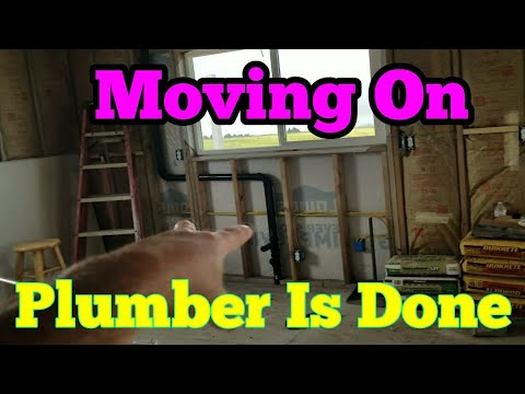 New Off Grid Home Plumber Is Done Moving On