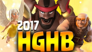 NO GOLEM! HGHB TH9 Attack Strategy 2017 | 3 Star Clan War Attacks | Clash of Clans