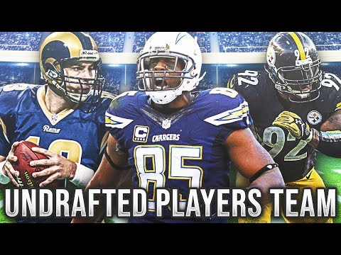 UNDRAFTED PLAYERS TEAM! INSANE OVERTIME GAME! Madden 18 Ultimate Team