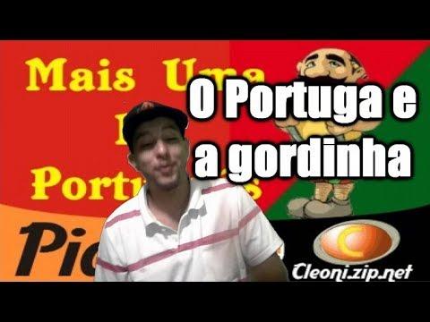 O Portuga e a gordinha picante