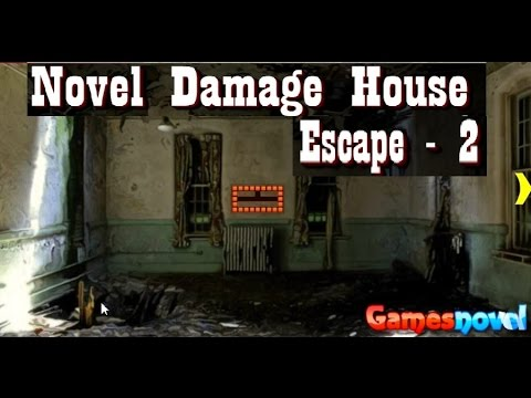 Novel damage house escape 2 walkthrough youtube for Minimalistic house escape 5 walkthrough