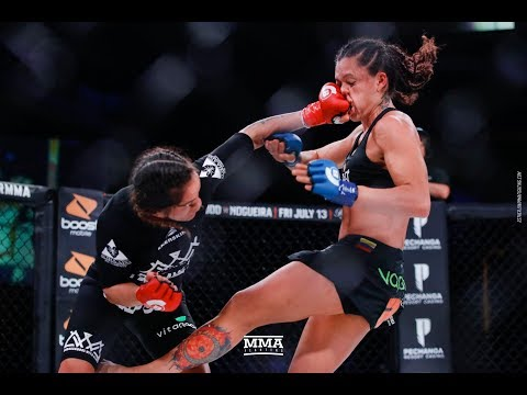 Bellator 201 Highlights: Ilima-Lei Macfarlane Defends Title - MMA Fighting