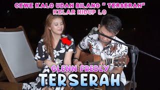 TERSERAH - GLENN FREDLY (LIRIK) COVER BY NABILA MAHARANI FT TRI SUAKA