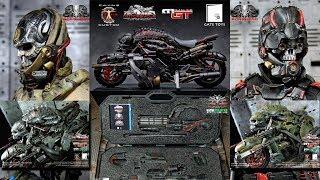 Calvin's Custom X GATE TOYS: MOTOPSYCLE + BORGHEAD + GUNRUNNER