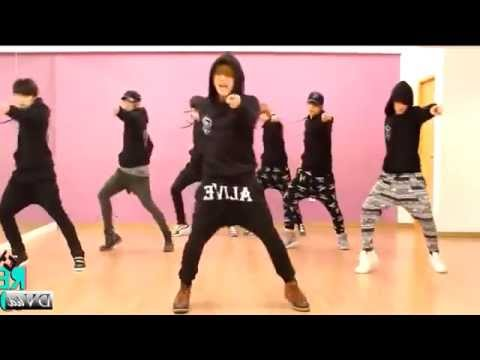100% (2PM) - I'll Be Back (dance practice) Mirrored