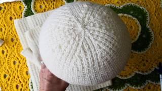 Комплект - шапочка, снуд, митенки... обзор. #комплект #шапка #снуд #митенки #узор