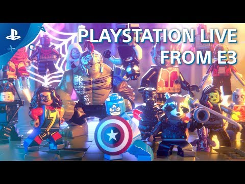 Lego Marvel Super Heroes 2 - PS4 Gameplay Demo | E3 2017