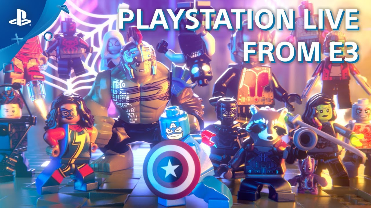 Lego Marvel Super Heroes 2 Ps4 Gameplay Demo E3 2017 Youtube