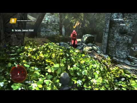 Assassin's Creed 4 Locate James Kidd