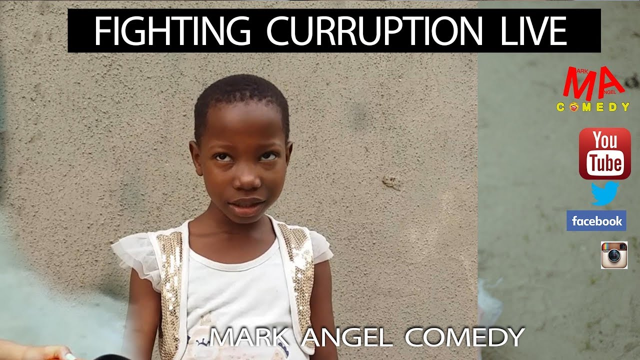 Download FIGHTING CORRUPTION (LIVE) (Mark Angel Comedy)