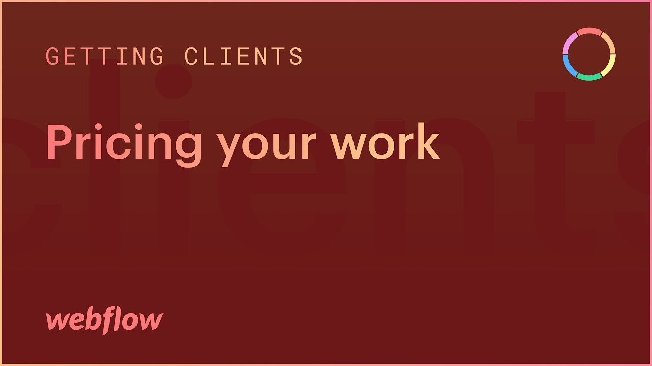 Pricing your work — The Freelancer's Journey