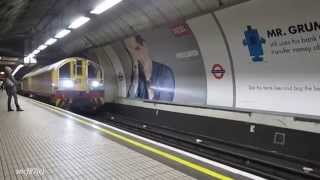 London Underground Battery Locos at Tottenham Court Rd & Oxford Circus